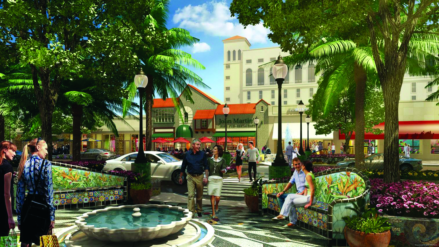 MM Streetscape Rendering